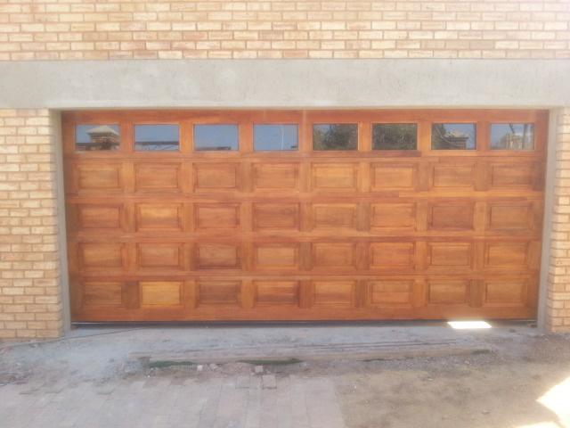 Doors sa agency garage doors doors sa agency - Double wooden garage doors ...